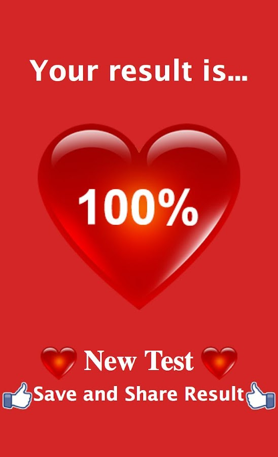 Real Love Test Calculator  screenshot Google Play