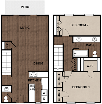 Go to Plan D Floorplan page.