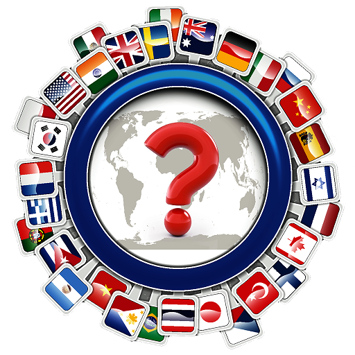 Flag Quiz Test - Country Flags knowledge Trivia Icon