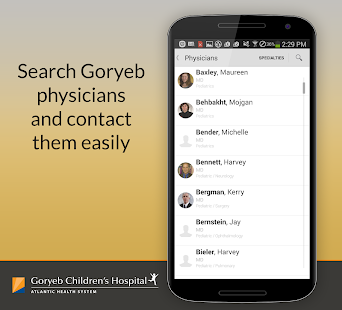 Be Well-Goryeb Children's Hosp- screenshot thumbnail