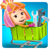 Fiksiki Supermarket Shopping Games for Kids