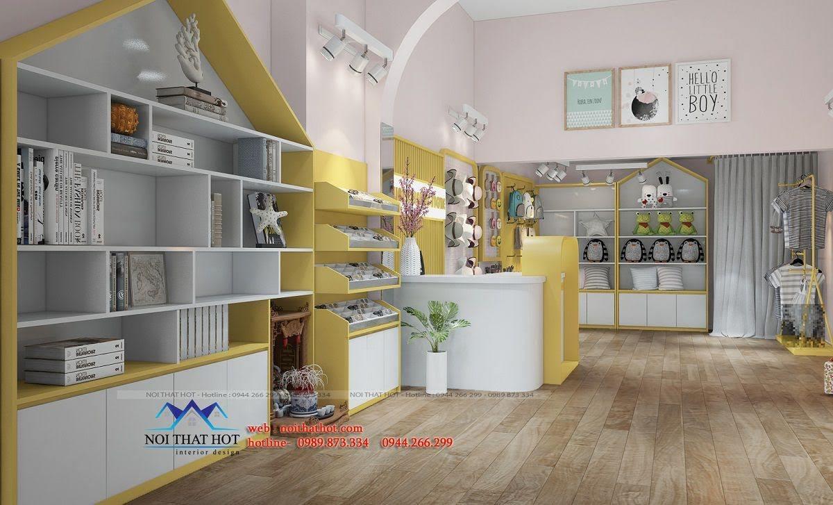thiết kế cửa hàng lưu niệm tại lò đúc 3