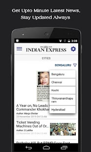 The New Indian Express- screenshot thumbnail