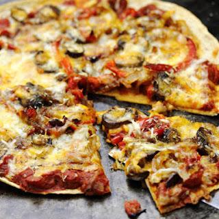 Super Thin Tortilla Crust Pizzas