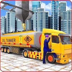 Liquid  Oil  Tanker  Transport Cargo Drive  Game
