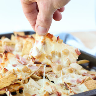 Chicken Cordon Bleu Nachos