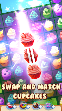 Cupcake Candy Island - screenshot
