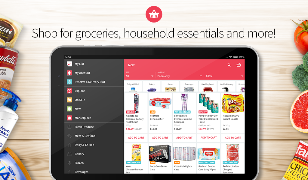 RedMart - Supermarket Online- screenshot