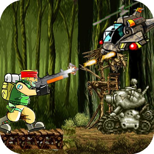 Terrorist Hunter: Metal Rambo Soldier Slugs