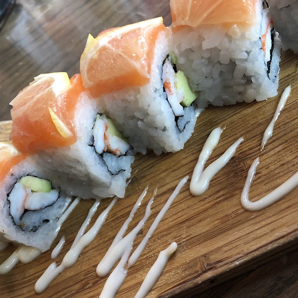 Lemon Sushi Roll