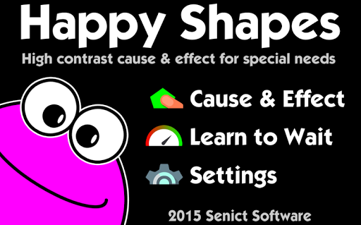 Happy Shapes Cause Effect