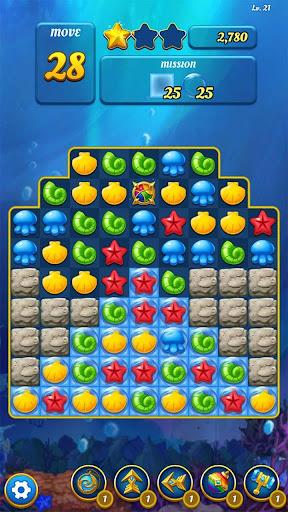 Ocean Splash Match 3: Free Puzzle Games 3.2.0 screenshots 6