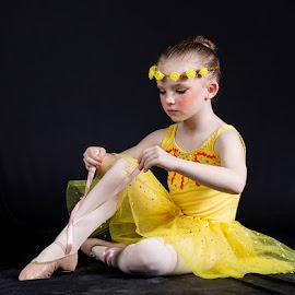Balerina by Ansie Meintjes - Babies & Children Child Portraits ( dancer, ballet, girl, balerina )