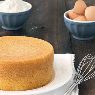 Italian Sponge Cake (Pan di Spagna).
