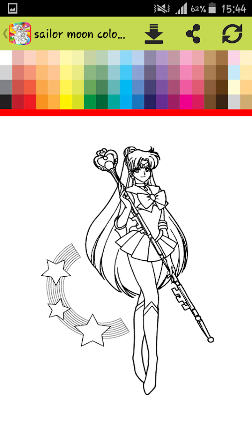 Coloring Book For Sailor Painting Games Screenshot