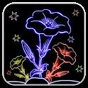 Draw Glow Flowers icon