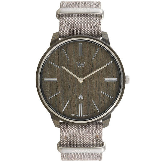 WeWood Man Watch Ross Wenge Nut Silver 42mm