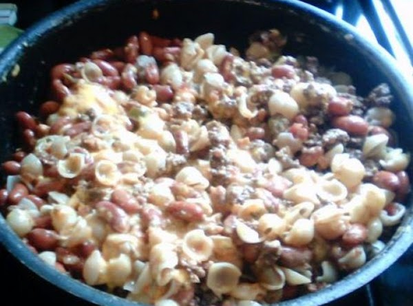 Beefy Shells & Cheese Dinner Recipe