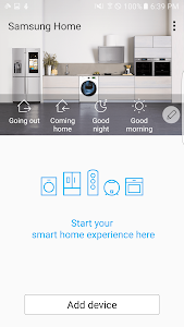 Samsung Smart Home screenshot 0