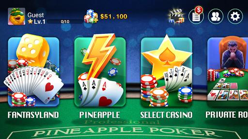 Télécharger DH Pineapple Poker OFC APK MOD (Astuce) screenshots 4