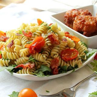 #Ad Easy Gourmet BLT Pasta Salad.