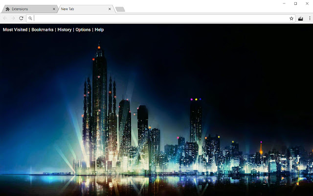 City HD Wallpapers Cityscape New Tab Theme