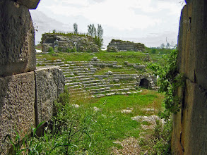 Photo: Limyra, entry to the Roman theater .......... Limyra, theateringang