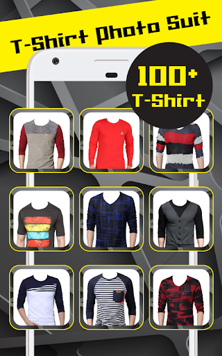 T Shirt Photo Suit screenshot 4