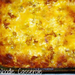 Best Ever Beef Noodle Casserole