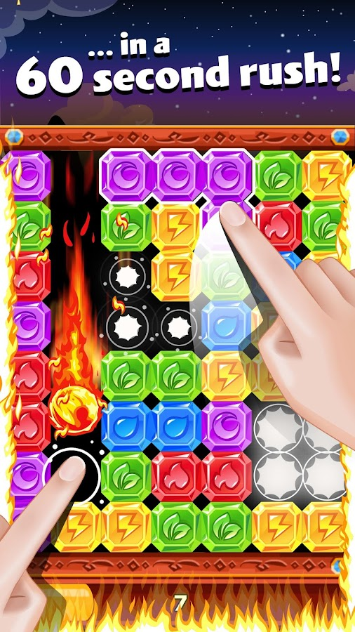 Diamond Dash - Tap the Blocks!- screenshot