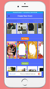 Download Frame Your Story - Birthday Anniversary Insta etc For PC Windows and Mac apk screenshot 4