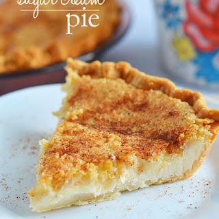 Sugar Cream Pie.