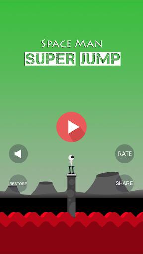 Space Man Super Jump