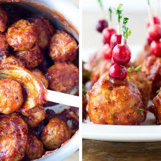 Cranberry Meatballs.