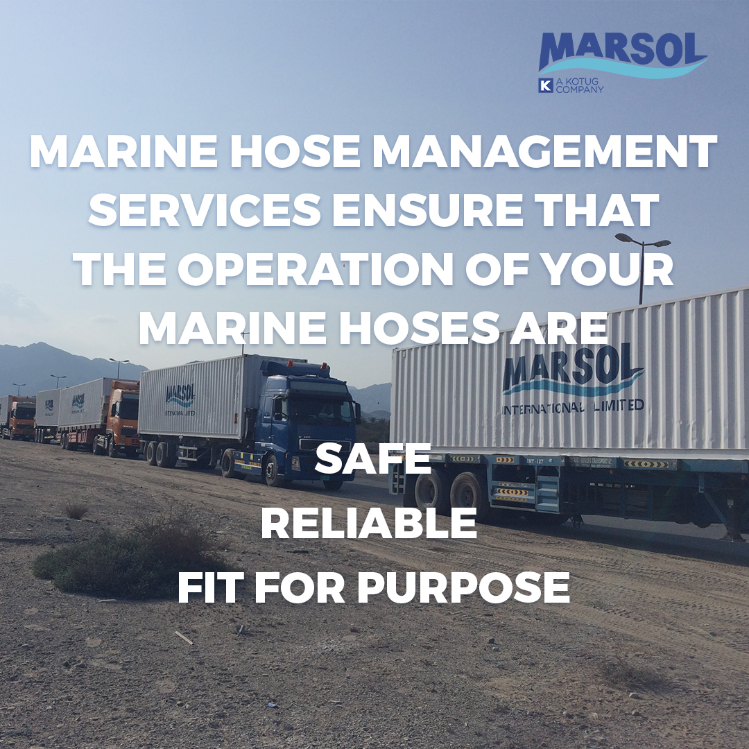 List of Marine hose management and maintenance factors.