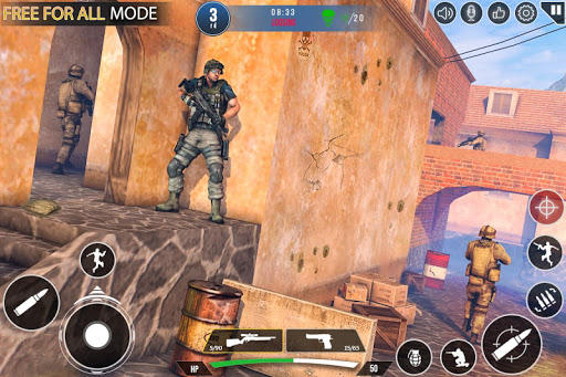 Immortal Squad 3D Free Game: New Offline Gun Games 20.4.1.4 screenshots 1