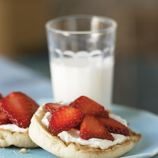 A Strawberry Breakfast Sandwich Is Sure To Please