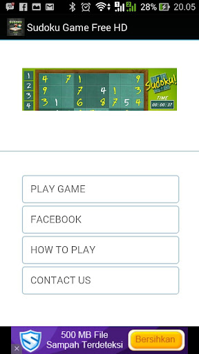 Sudoku Game Free HD