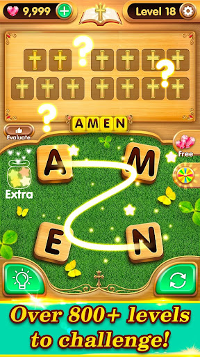 Bible Verse Collect - Free Bible Word Games  captures d'écran 2