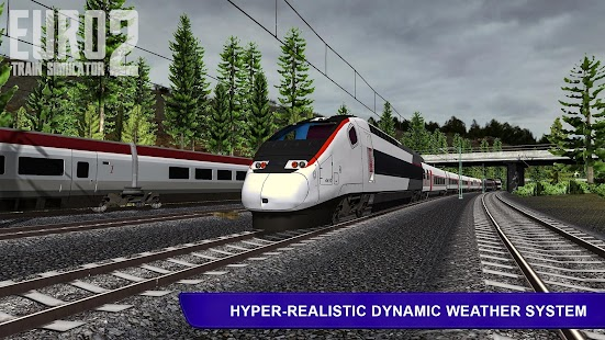 Euro Train Simulator 2 Screenshot