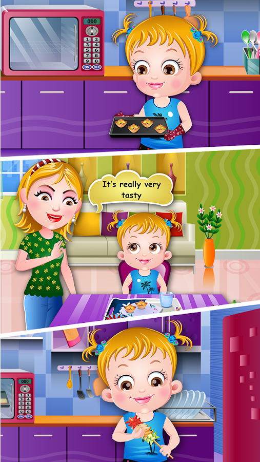 Baby Hazel Cooking Time- screenshot