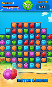 Booster Candy : Candy Jelly Crush Blast Mania 7