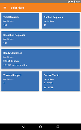 Screenshot 8 for Cloudflare's Android app'