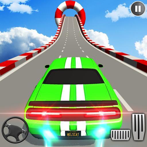 Muscle Car Stunts 3D Mega Ramp Driving Car Games