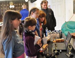 Photo: Kids watching slideshow of chess artworks. https://picasaweb.google.com/104567606182229168710/2012ChessDrawingContests