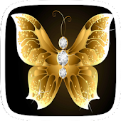 Golden Diamond Butterfly