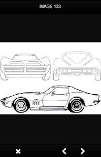 Kreslení auta - náhled