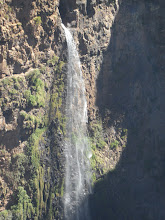 Photo: Jinbar waterfall - more than 1,500 feet tall! - in Simien Mountains National Park