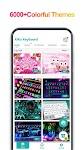 screenshot of iKeyboard -GIF keyboard,Funny Emoji, FREE Stickers