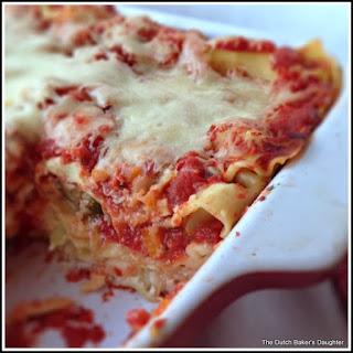 Fresh Harvest Lasagna ..... #RGLasagna